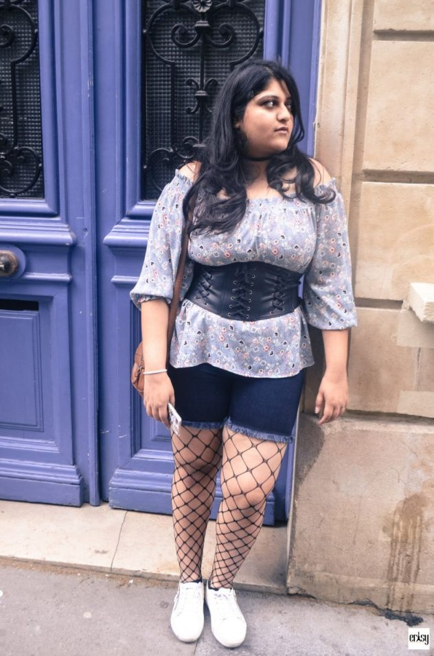 Corset Belt and Fishnets #ErtsyLookOfTheWeek