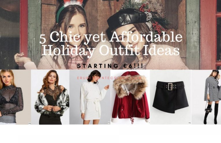 Holiday Outfit Ideas Shein