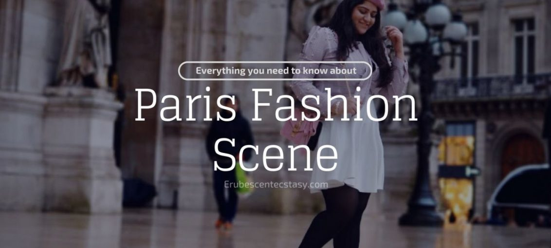 Paris fashion scene