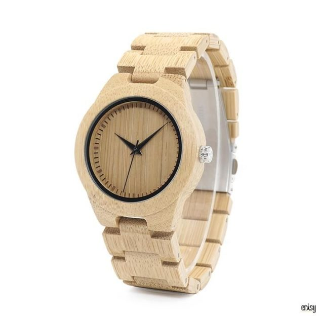 Personalised Wooden Watch (Women Version)