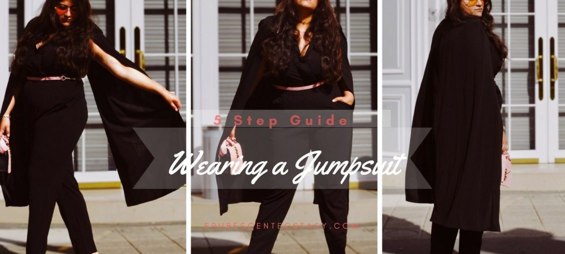 5 Style Tips: Wearing a Jumpsuit