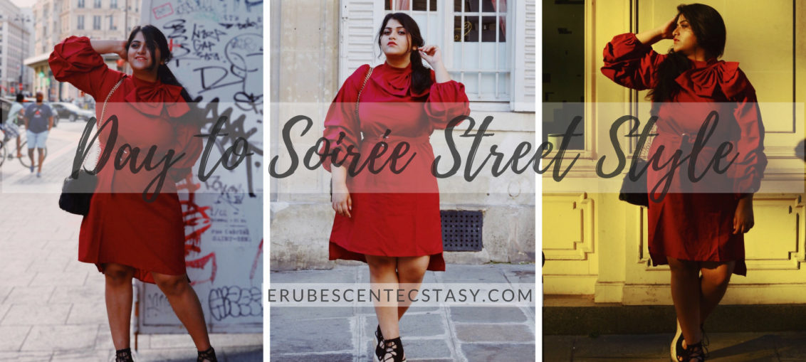 Day to Soirée StreetStyle: High Fashion Dress