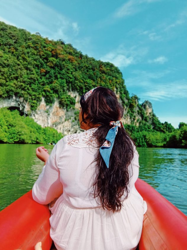 Phuket Travel Fashion Canoeing