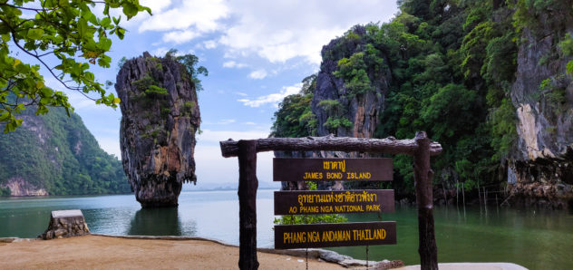 Phuket PhangNga Bay James Bond Island